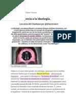 José Rafael Herrera - De La Conciencia a La Ideología. - Revista de Filosofía_ Historia y Pensamiento, Microfilosofía