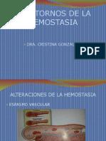 fisiopatologia de coagulopatias