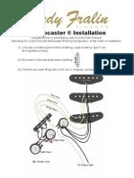 Lindys Favorite Strat Installation Guide