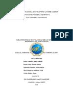 CARACTERISTICAS TECNOLOGICAS de Los Sistemas de Radiodifucion Por Satelite