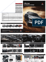 Brochure Mitsubishi New Triton 2019