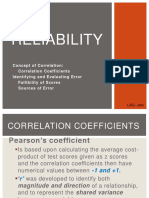 Test Con Reliability