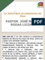 14 Octubre - Dios El Unico Con Autoridad