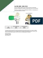 Dive_confusio Raccords DIN M25 M26