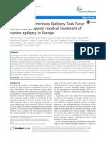 Internationan Veterinary Epilepsy Task Force - Medical Treatment of Canine Epilepsy (1) (1)
