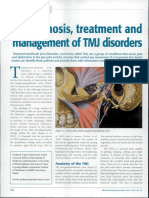 Diagnosis, Treatment and Management of TMJ Disorders
