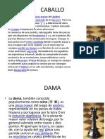 Diapositiva de Conocimiento en Ajedrez