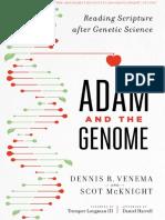 Adán y El Genoma – Dennis R. Venema y Scot McKnight(2)