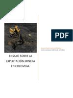 Ensayo Sobre La Explotación Minera en Colombia