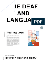 The Deaf and Language