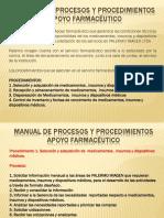Procesos y Procedimientos Apoyo Farmaceutico