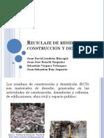 Reciclaje de Residuos de Construcción y Escombros