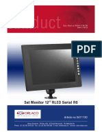 DS0411130 Set Monitor 12in RLED Serial R6 en R1-0
