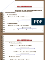Interval matematica basico