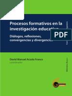 Procesos Formativos en La INVESTIGACION EDUCATIVA