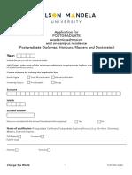 03 Manela Uni Postgrad Application Form 2019(ONLINE)