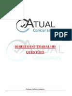 DIREITO DO TRABALHO - QUESTÃ•ES.pdf