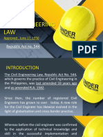 Civil Engineering Law 101