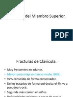 Fracturas de Miembro Superior 2018.pptx