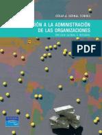 Libro Introduccicon a La Administracicion de Las Organizaciones Enfoque Global e Integral Autor Cesar a Bernal Torres