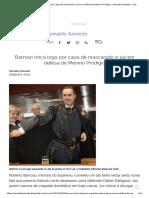 Barroso Troca Toga Por Capa de Mascarado e Sai Em Defesa de Menino Prodígio