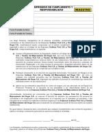 Anexo 2-Compromiso de Cumplimiento y Responsabilidad de Los Trabajadores