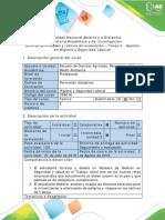Guía de Actividades y Rúbrica de Evaluación - Tarea 4 - Gestión en Higiene y Seguridad Laboral