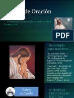 La Vida de Oración de Jesús
