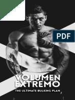 Volumen Extremo - The ultimate bulking plan