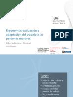 PPT Ergonomia Evaluacion Trabajo IBV