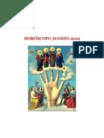 Horoscopo Agosto 2019