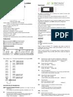 x Tronix Control Taisuo 321 322 Manual