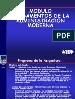 PPT 2 Fundamentos de La Administracion Moderna (1)