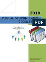 Manual Formulario - Google Docs