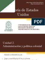 Unidad 2 Administración y política colonial (Avances)