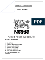 MM report on NESTLE final