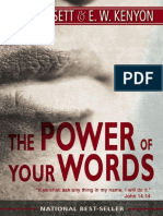 329976627 3 the Power of Your Words E W Kenyon