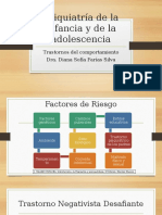 Psiquiatría de La Infancia y de La Adolescencia