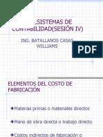 Sistema de Costeo 2015