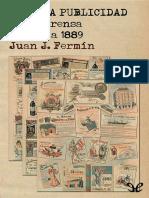 Fermin, Juan Jose - Curiosa Publicidad en La Prensa de 1880 a 1889