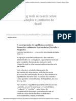 A Recomposição Do Equilíbrio Econômico-financeiro_ Cabimento Dos Institutos (Revisão x Reajuste) – Blog Da Zênite