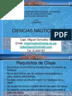 Ciencias Nauticas II