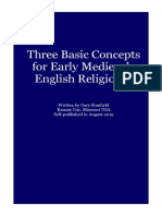 Three Basic Concepts for Early Medieval English Religions (Display-Friendly Format)
