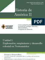 Unidad 1 Exploración, surgimiento y desarrollo colonial en Norteamérica (Avance)