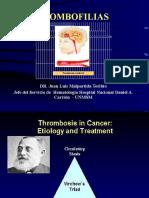 trombofilias medicina
