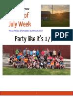 newsletter week 3