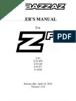 Bazzaz Software Manual V123