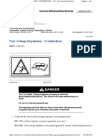 Poor Voltage Regulation - Troubleshoot