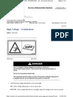 High Voltage - Troubleshoot