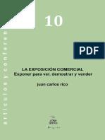 RICO, Juan Carlos. La Exposición Comercial